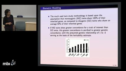 Mathematical Biosciences Institute :: Video